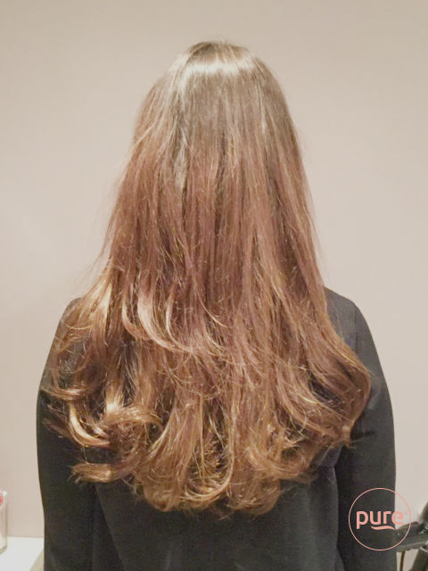 Voor en na hairextensions | Pure Hairextensions