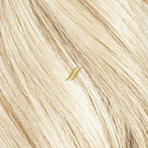 Licht blonde haar matten inzetten