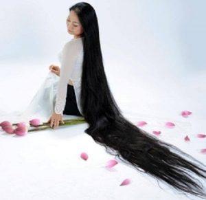hoe lang moet je eigen haar