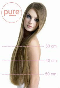 hoe lang moet je eigen haar zijn voor hairextensions