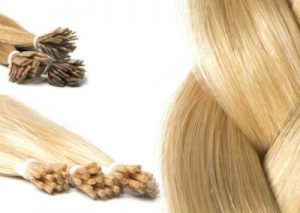 keratine of microring hair extensions